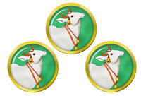 Sacred Vache Hindou Marqueurs de Balles de Golf