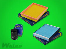 Paquete de Inspección Ford Fiesta V 1,3 1,6 16V Filtro Aire Del Aceite Polen