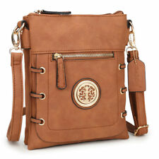 New Dasein Women Handbag Faux Leather Crossbody Bag Messenger Bag Travel Purse