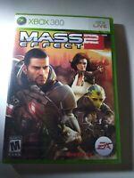 Mass Effect 2 (Microsoft Xbox 360, 2010) NEW Sealed
