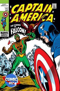 CAPTAIN AMERICA #117 FACSIMILE EDITION (2021) 1ST PRINTING MARVEL COMICS