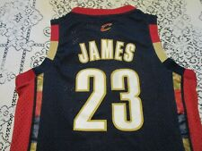 Cleveland Cavaliers Lebron James #23 Reebok Stitched Basketball Jersey- Youth Md