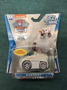 Nickelodeon Paw Patrol Everest Off Road Snow Snowmobile True Metal Car Vehicle