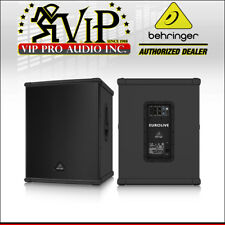 Behringer B1800Xp mint Active Subwoofer Powered Sub 3000W Amplified Dj / Club