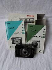 Canon Ixus L-1 Kamera im Originalkarton mit Unterlagen