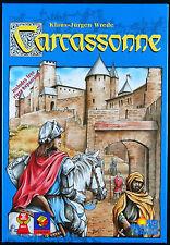 Carcassonne 2000 ED complete excellent includes River Expansion Rio Grande Games