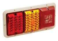 SURFACE MOUNT Bargman LED 47-84-612-84//85 Series Tail Light RED//AMBER