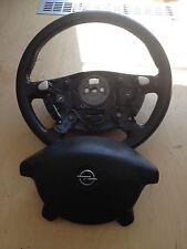 Opel Omega B Lederlenkrad Multifunktion 90127988 deutliche Gebrauchsspuren!