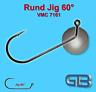 Rundkopf Jig VMC 7161 60° Jig, Jighaken