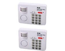 2 sensori di movimento wireless allarme sicurezza casa giardino caravan