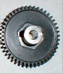 "48 Tooth Coxaloy Spur Gear & Set Screw 48 Pitch 1/8"" Axle Vintage Slot Car NOS"