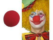 5 x Espuma Nariz De Payaso Rojo Partido Cosplay Suave / Foam Clown Nose