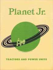 1950s Planet Jr. Tractors and Accessories Catalog -- reprint