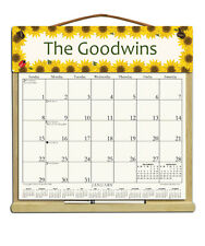 PERSONALIZED CALENDAR WITH 2018, 2019 & AN ORDER FORM FOR 2020 - SUNFLOWERS