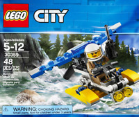 LEGO City #30359 - Police Water Plane / Hydroplane - Collector 2018 - NEW / NEUF