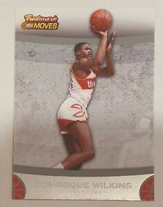 NBA Trading Card 2007-08 Topps Trademark Moves #49 Dominique Wilkins Atlanta...
