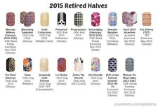 Jamberry Nail Wraps Retired 2015, half sheets