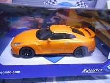 NISSAN GT-R Skyline GT R 2014 Coupe orange Solido Rarität 1:43