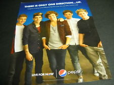 ONE DIRECTION there is only one direction... 2012 PROMO POSTER AD