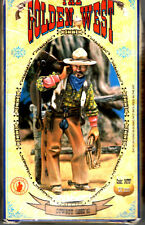 ANDREA MINIATURES S4-F07 - COWBOY (1880's) - 54mm WHITE METAL