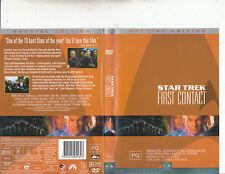 Star Trek:First Contact-1996-Patrick Stewart-[Special Edition 2 DVD]-Movie-2 DVD