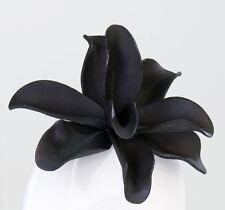 28478 Flor Flor De La Espuma noche flor de la espuma, Diámetro 10cm negro