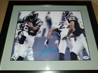 LaDainian Tomlinson (HOF) LA Chargers SIGNED Custom Framed 11x14 Photo (PSA COA)