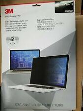 "NEW Genuine 3M Privacy Filter for 13"" Apple MacBook Pro - PFNAP007 -  2016+ NIB"