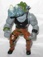 TMNT Rocksteady Soft Head 1988 Teenage Mutant Ninja Turtles Figure Only Vintage