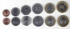 MAURITANIA NEW ISSUE 6 DIF UNC COINS FULL SET 1/5 - 20 OUGUIYA 2018 YEAR BIMETAL