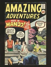 Amazing Adventures Vol. 1 # 2 - Ditko art & Kirby monster cover VG/Fine Cond.