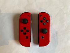 Genuine Nintendo Switch Joy-Con Pair - Mario Odyssey Edition