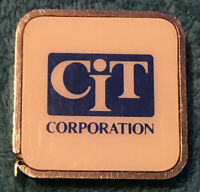 Vintage Barlow CIT Corporation Advertising Tape Measure - Made In USA