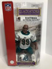 "Jason Taylor NFL Miami Dolphins HOF ""GLADIATORS OF THE GRIDIRON"" Action Figure"