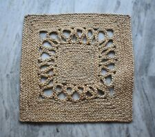 Hard Working  Antique Looking Jute (Hemp) Door Mat, Sisal Mat Nice Look