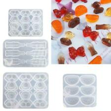Gummy Molds Silicone Bear Orange Candy Chocolate Coke Drink Bottle Resin Mold