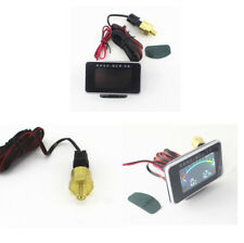 2in1 LCD Display Car Truck Oil Pressure Gauge and Voltmeter Voltage Gauge NPT8/1