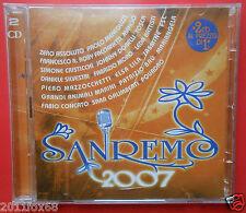2 cd 2 compact disc sanremo 2007 fabrizio moro mango leda battisti zero assoluto