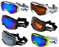 Wrapz Freestyle Antifog Vented Ski Snowboarding Goggles