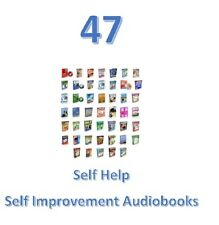 47~SELF HELP~Self Improvement Audiobooks W-Resale Resell Rights MP'3 F-Shipping