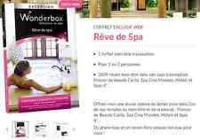Coffret E-Billet  Wonderbox ''Rêve de Spa'' 129€ au lieu 149€