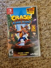 Crash Bandicoot N-Sane Trilogy Video Game + Controller (Nintendo Switch, 2018)