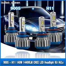 H11 9005 Combo LED Headlight For Toyota Camry 07-17 4Runner 06-17 Tundra 07-13