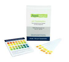 Aquanatura pH Wert Teststreifen (100 Stück) Urin & Speichel pH Indikator pH Test