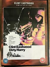 CLINT EASTWOOD DIRTY HARRY ~1971 ORIGINALE COP THRILLER classico ~ UK DVD