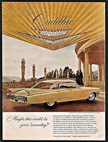 1963 CADILLAC 4-door Hardtop Classic 1960s Car Photo AD