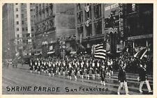 San Francisco California~Shrine Parade~Koos Bros Cafeteria~Good Dentists~c1915