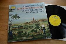 Beethoven Piano Quartets Eschenbach Amadeus-QUARTETTO LP DGG 2535174 NM