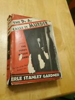 The DA Calls It Murder, by Erle Stanley Gardner, HCDJ, 1937, 3rd Printing