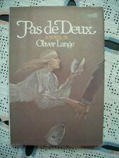 Pas De Deux (Oliver Lange, 1982 1st Edition HCDJ)